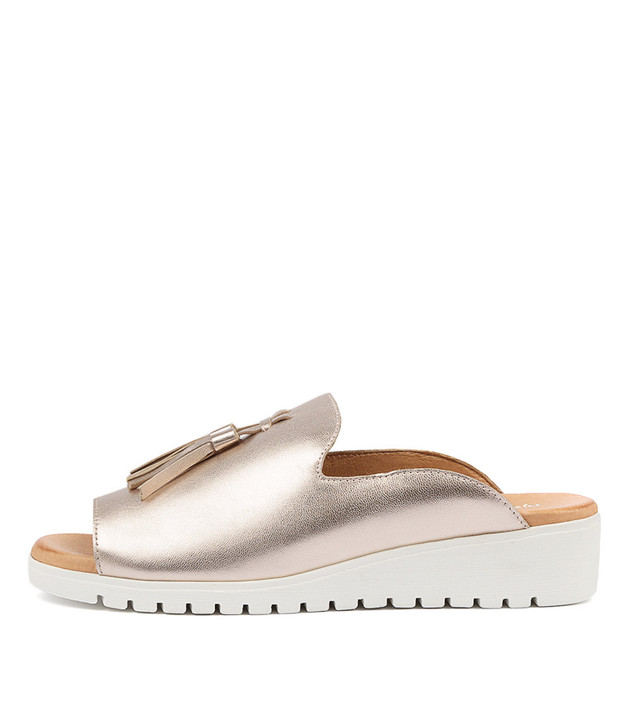 MAYSON Rose Gold Leather