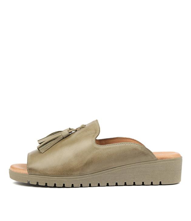 MAYSON Khaki Leather