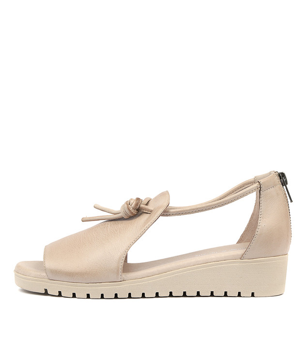 MELVIN Nude Leather