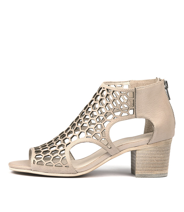 BOSTIK Heels Sandals Nude Leather