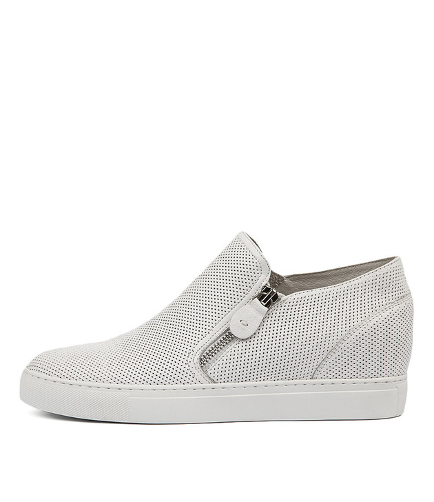 GUSTAVA Sneakers in White Leather