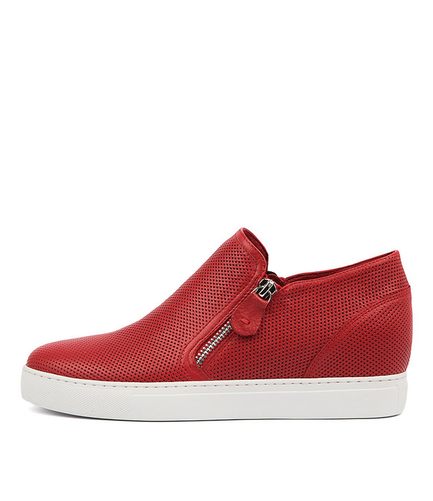 GUSTAVA Sneakers in Red Leather
