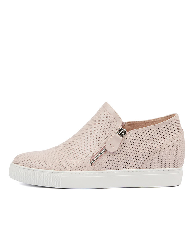 GUSTAVA Sneakers in Pale Pink Leather
