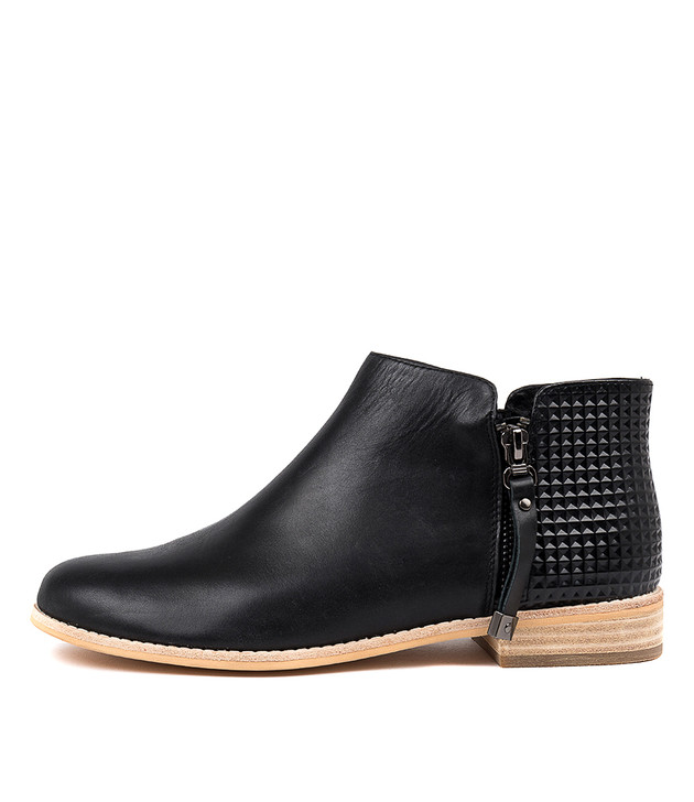 ALWINE Boots Boots Black Leather
