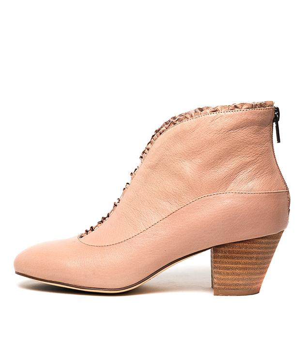 HEMERA Boots Nude Leather