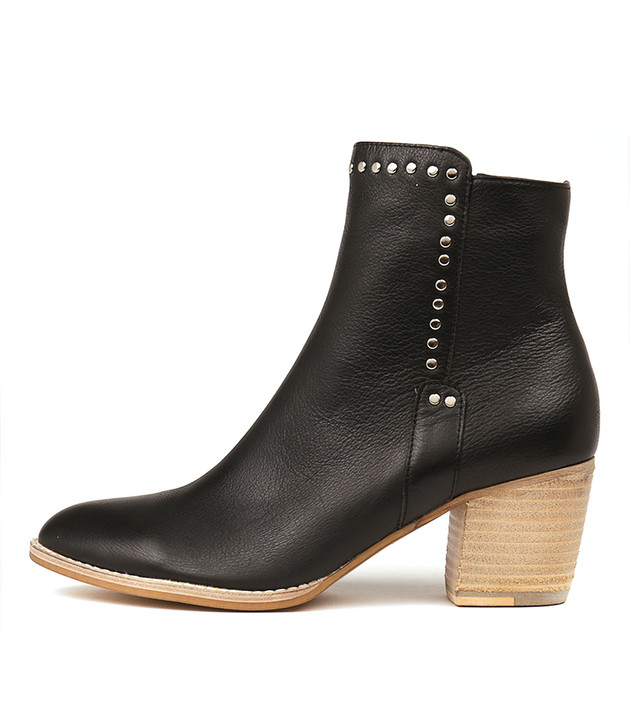 BRISTING Boots Black Leather