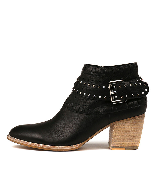 BENITO Boots Black Leather