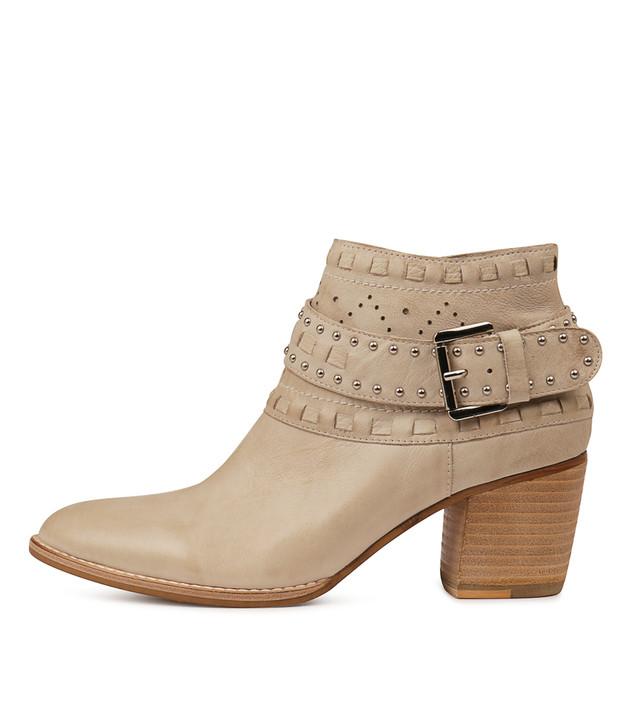 BENITO Boots Winter White Leather