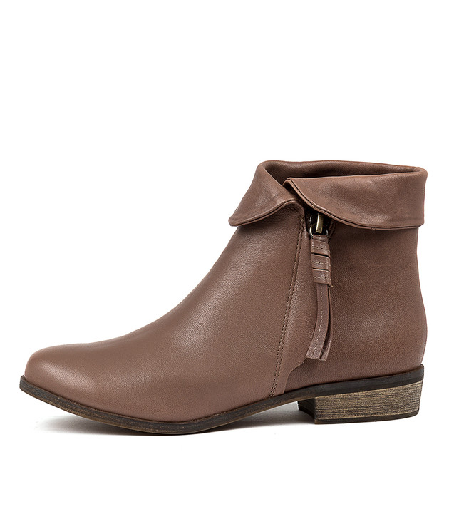 SHARDEYS Boots Taupe Leather