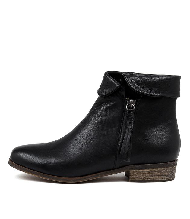 SHARDEYS Boots Black Leather