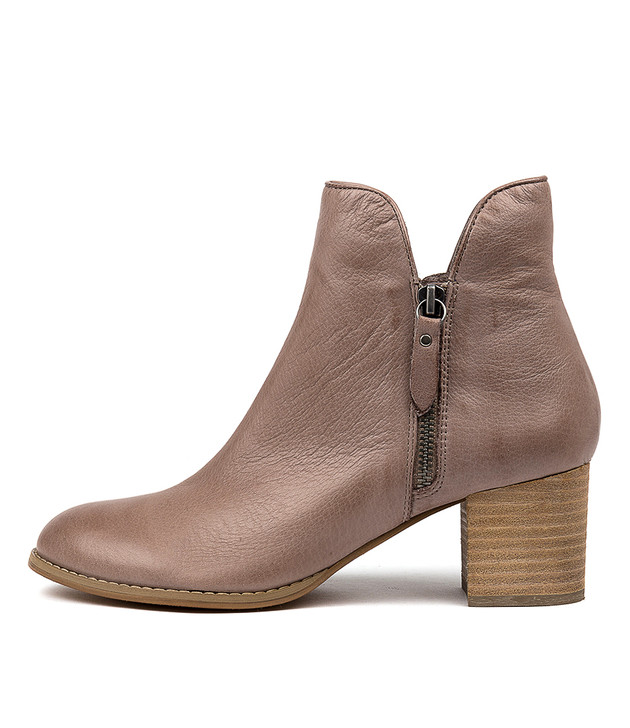 SHIANNELY Boots Smoke Leather