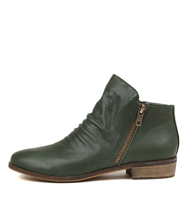 SPLIT Boots Forest Leather
