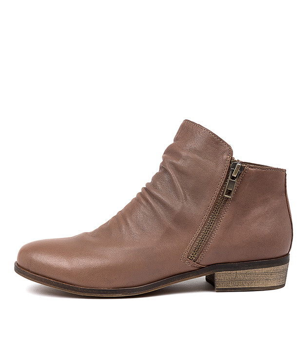 SPLIT Boots Taupe Leather