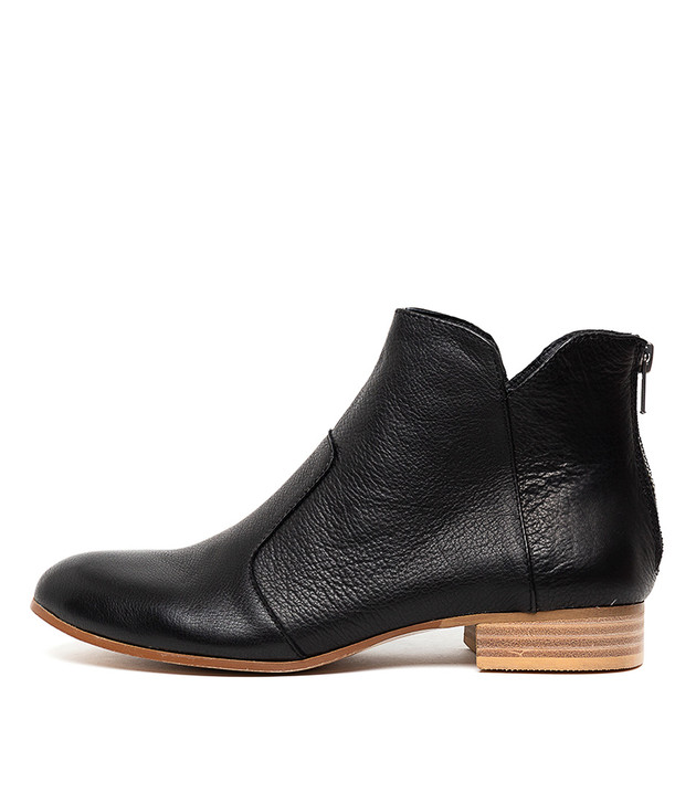 FRONIA Boots Black Leather