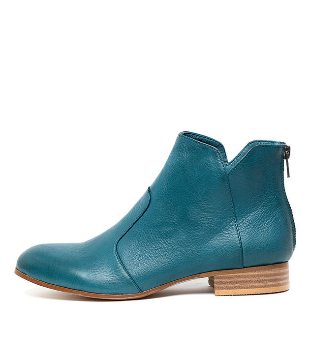FRONIA Boots Teal Leather