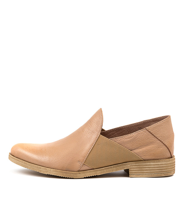 KEFECT Boots Latte leather