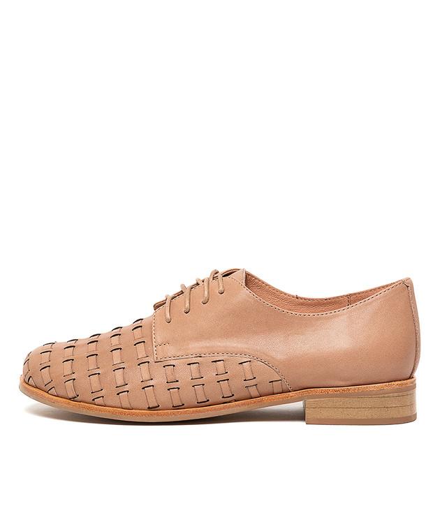 ALVERO Flats Nude Leather
