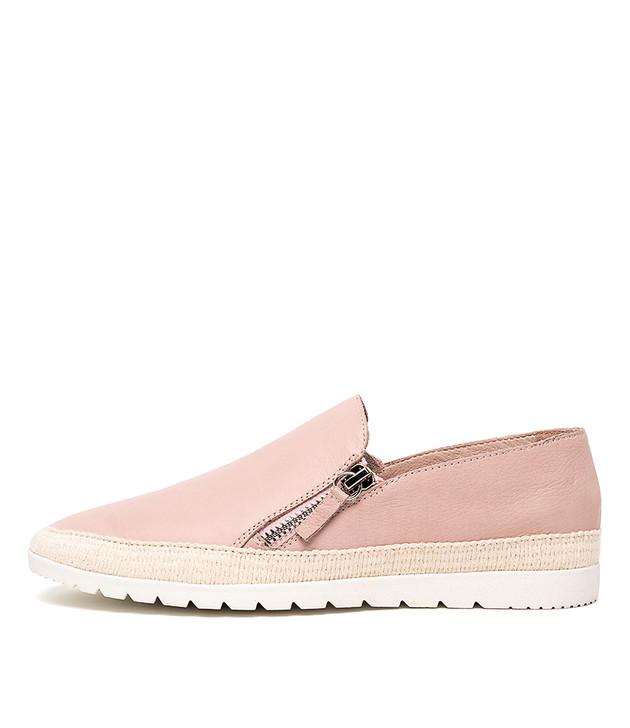 VENESSA Flats Pale Pink Leather