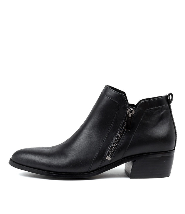 CARYL  Black Leather