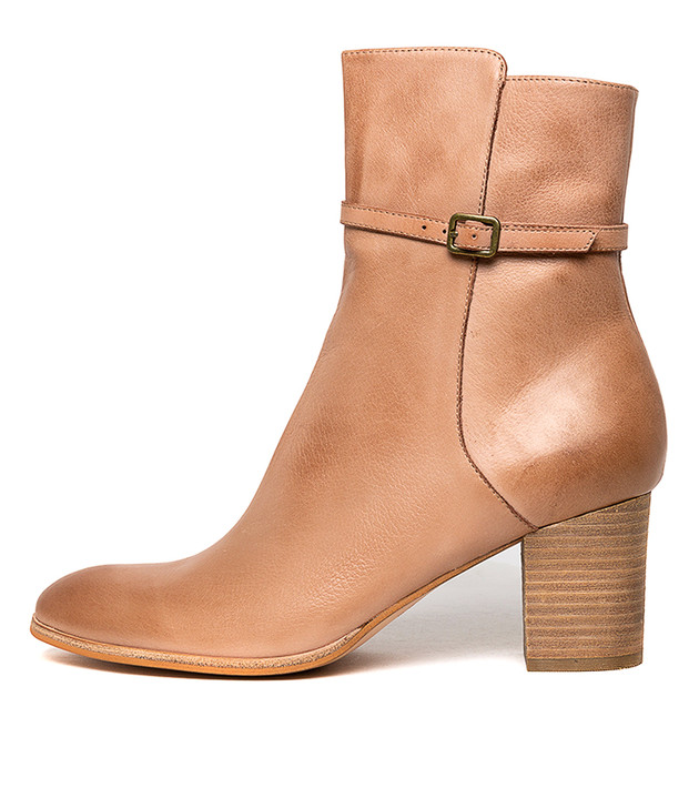 DAUNTE Boots Cafe Leather