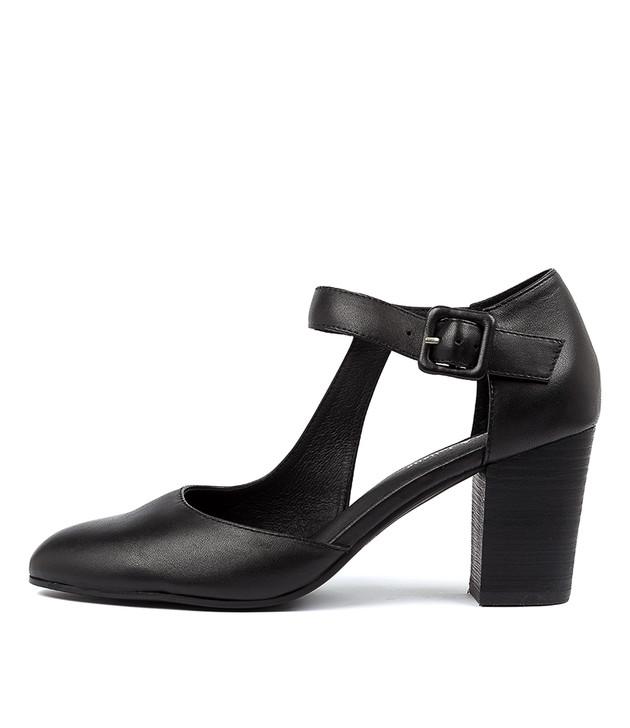 LENNA  Black Leather