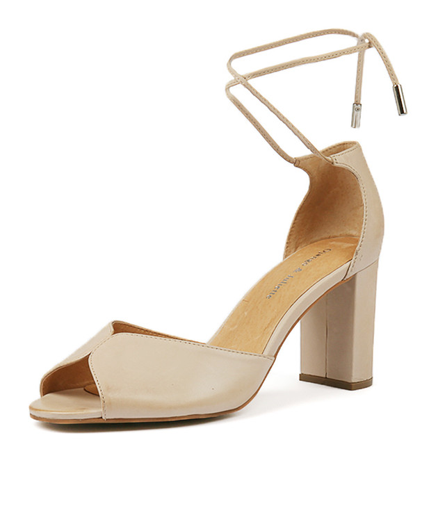 TIEUP in Nude Leather