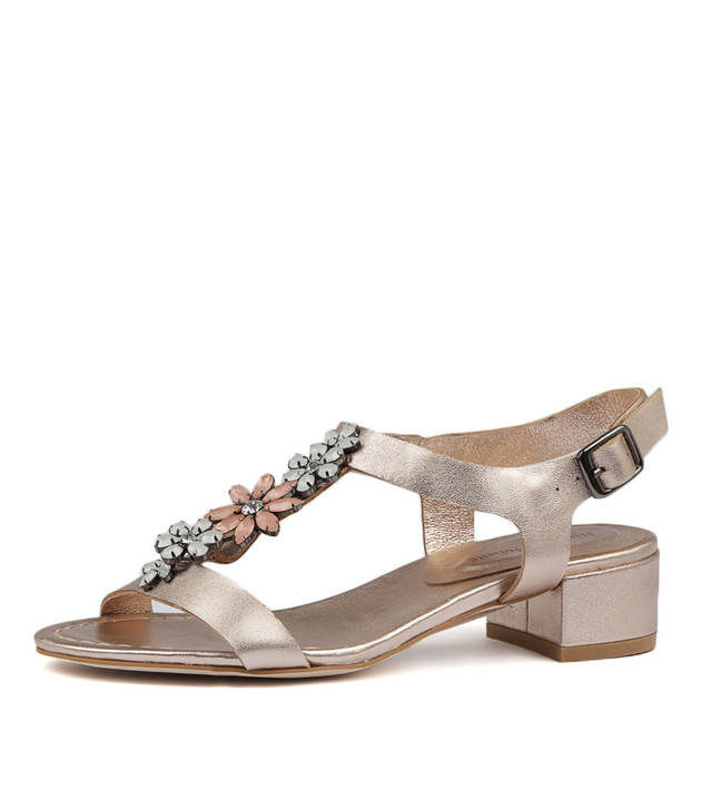 BESSIE in Rose Gold Leather