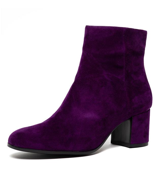 NULU  Purple Suede