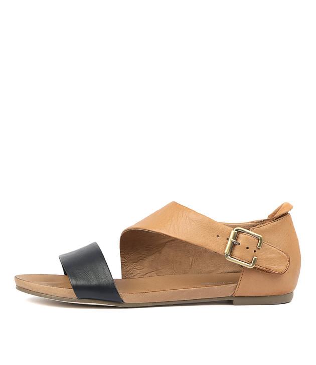 JEREDS  Navy Tan Leather