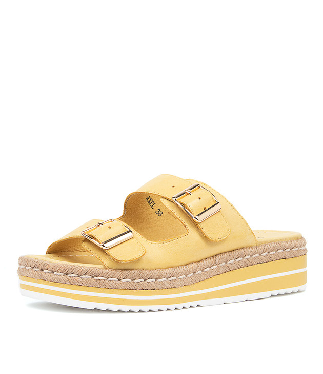 AXEL Yellow Leather