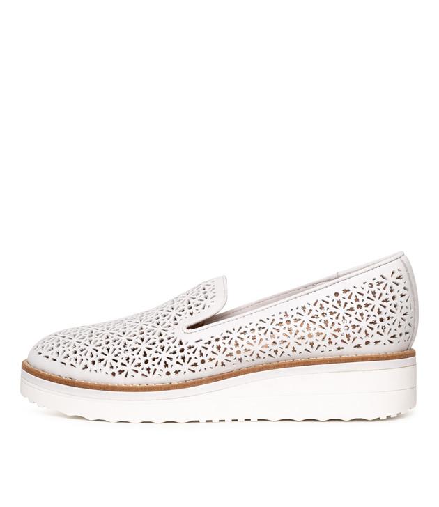 PRISCILA  White Leather