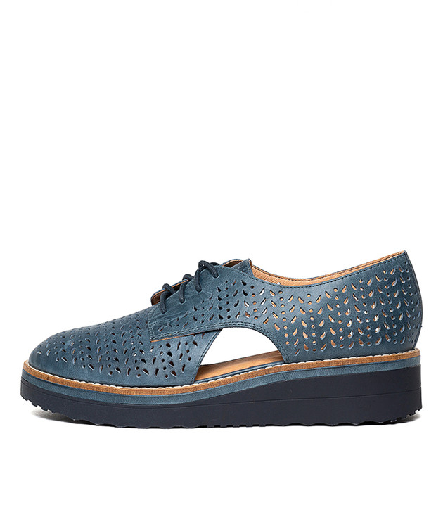 PEARLINE  Light Navy Leather