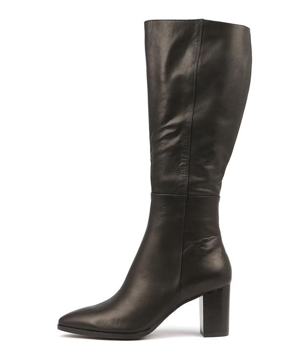 ALLOUTA  Black Leather