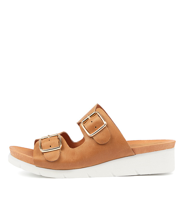 LANGES in Tan Leather