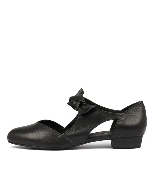 ESETE  Black Black Leather