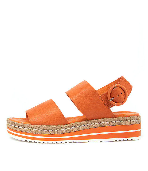 ATHA  Bright Orange Leather