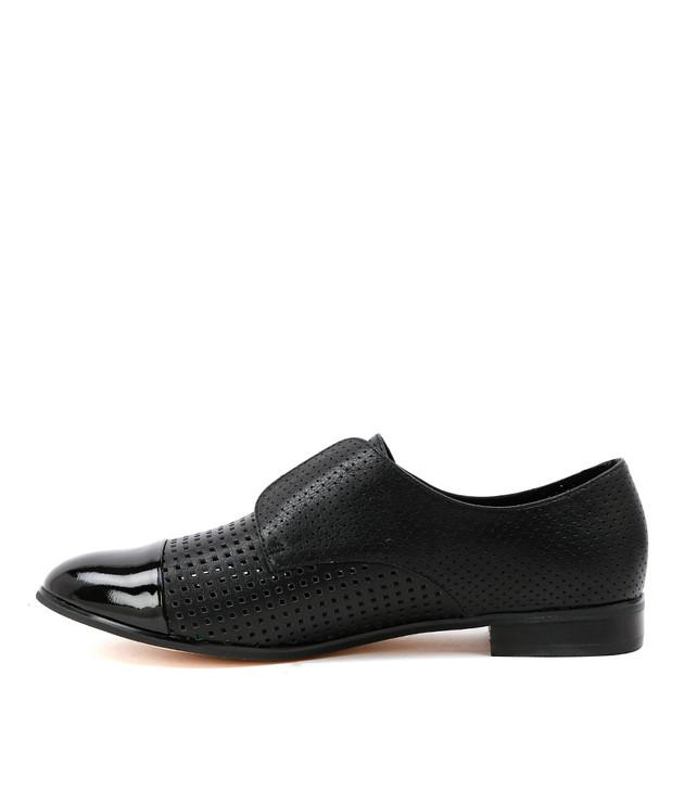 JACCA Black Patent Leather