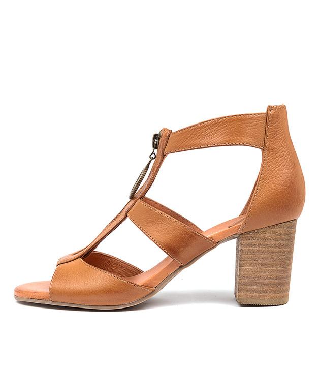 SARITAS  Dark Tan Leather