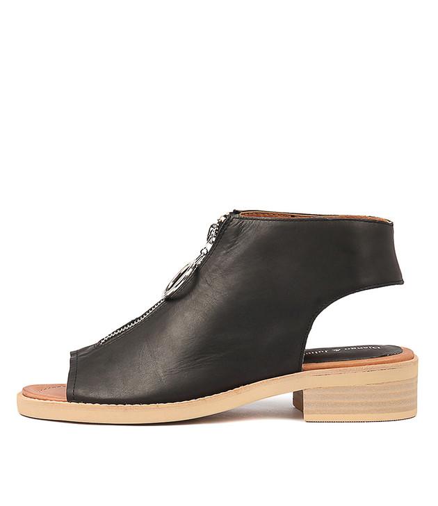 RESIGN Black Leather