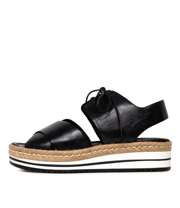AVIE  Black Leather