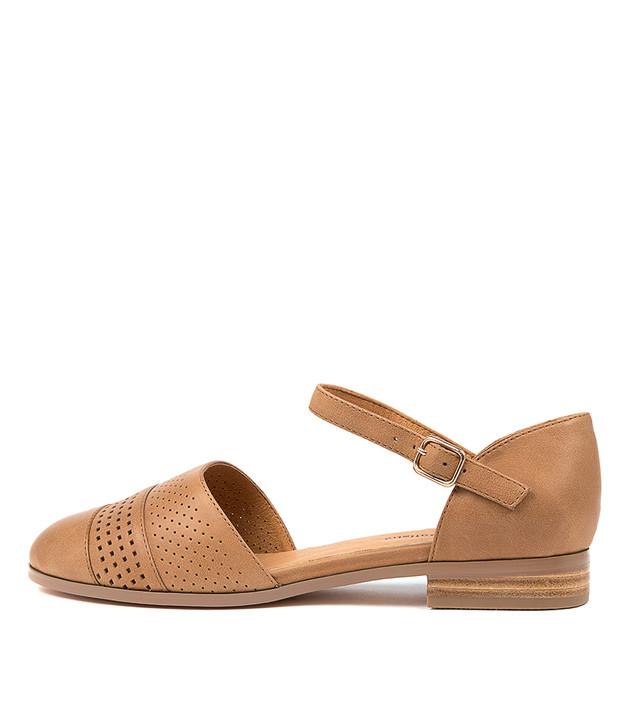 JILES  Tan Leather
