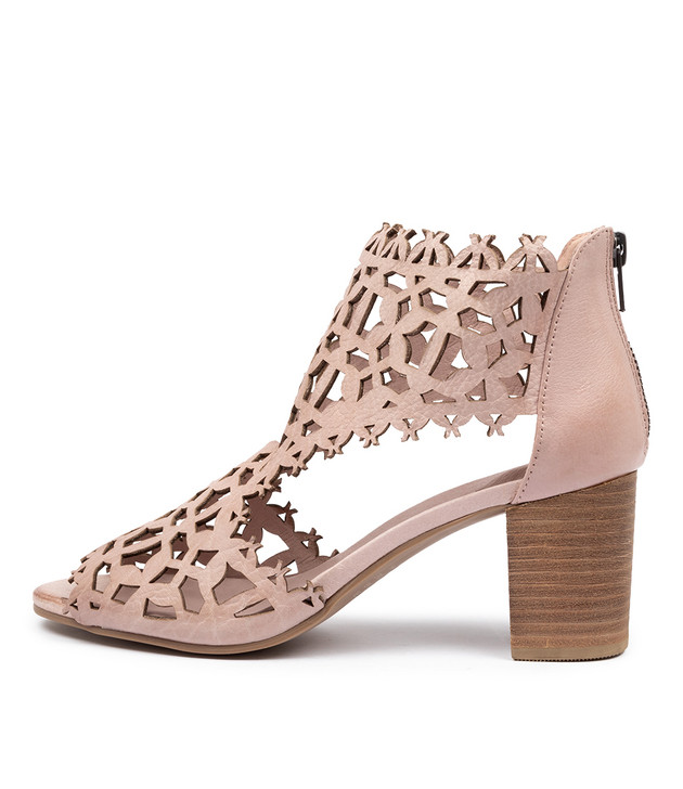 SHANON  Dusty Pink Leather