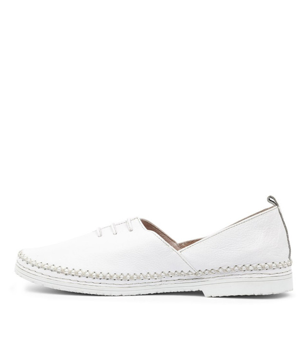VUNCH  White Leather