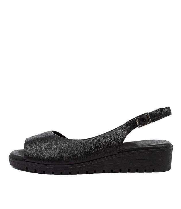 MITZI  Black Black Leather