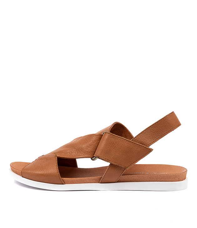CARLOSY  Dark Tan Leather