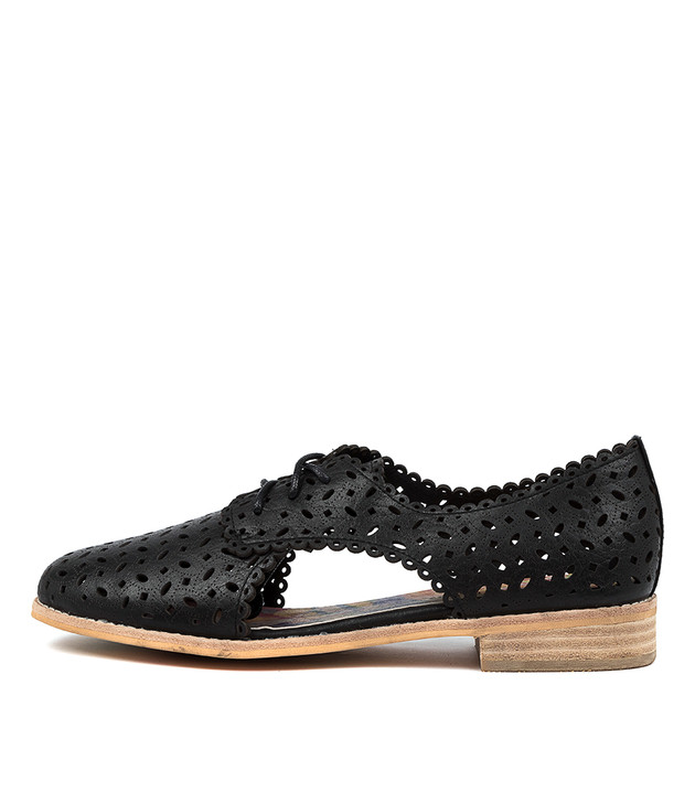 AGNESS  Black Leather