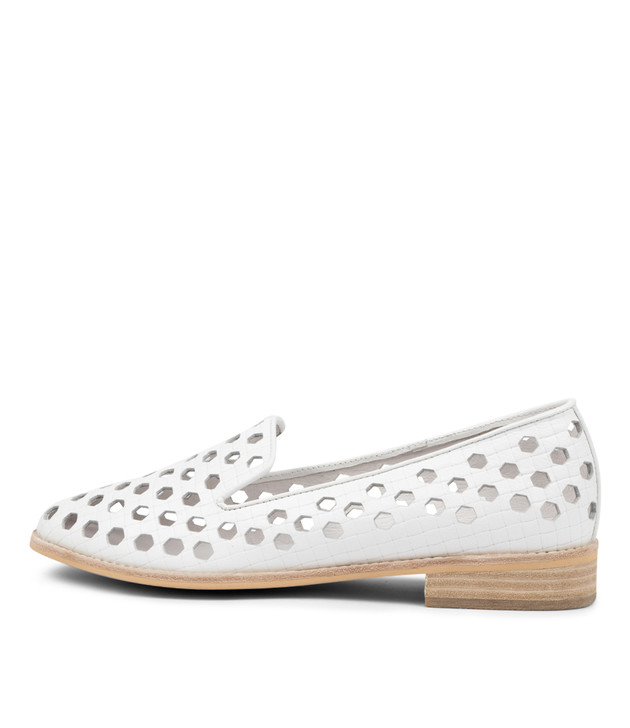 ALINA  White Leather