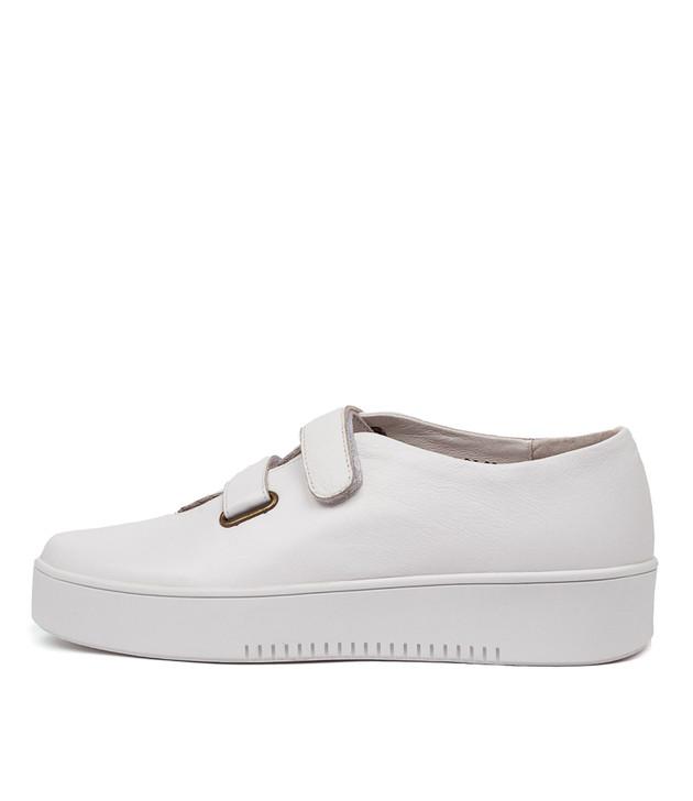 LESTER White Leather