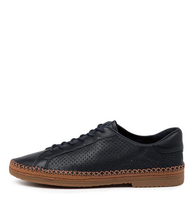 VUMPTION  Navy Leather
