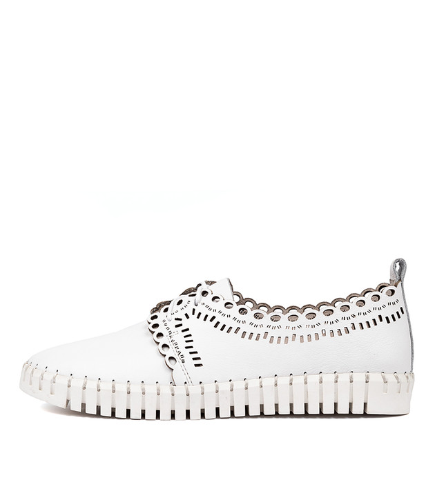 HEENEY  White Leather